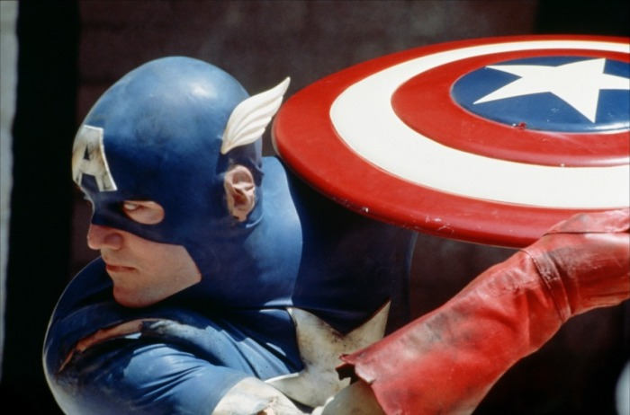 Steve Rogers, trying in vain to maintain a low profile.