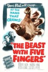 Beast-With-Five-Fingers-Poster